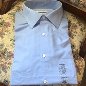 Van Heiden full fit dress button down shirt 161/2L